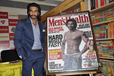 Ranveer Singh at mag launch
