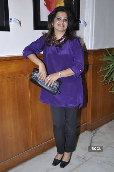 Shefali Shah's art exhibition