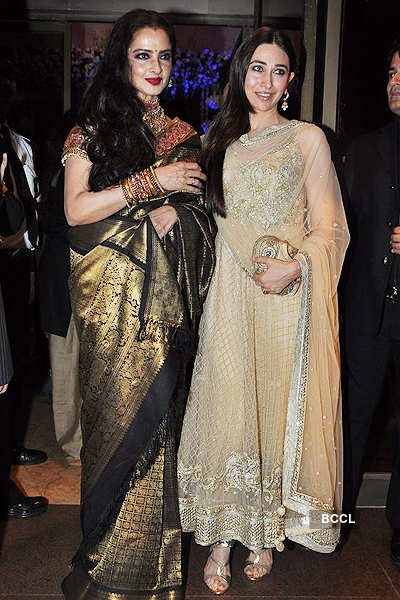 Stars @ Abhinav & Ashima Shukla's reception