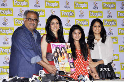 Sri with family @ mag launch