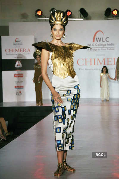 Celebs @ 'Chimera' fashion show