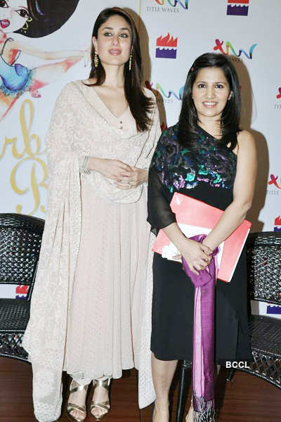 Bebo at a book launch