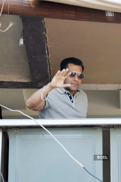 Sallu's b'day celebrations