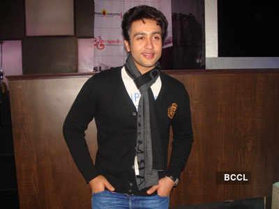 Adhyayan, Ragini @ movie promotion