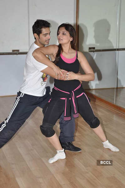 Deepshikha, Kaishav rehearse for 'NB'