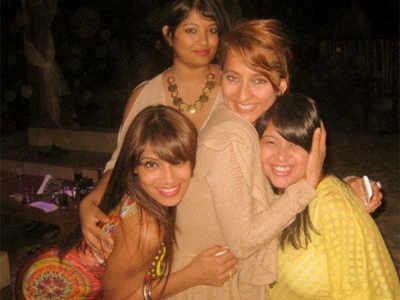 Bipasha's b'day celebrations in Goa!