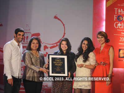 Times Nightlife Awards '13 - Winners : Pune