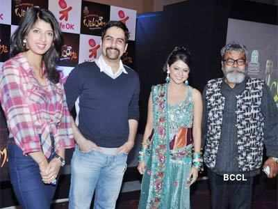 Celebs at a TV show launch