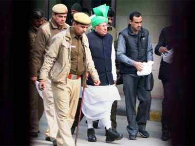 Chautala, son get 10 years in jail