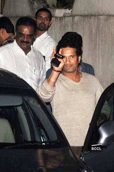 Sachin watches 'Balak Palak'!