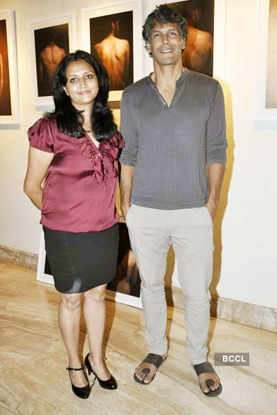 Celebs attend photo exhibition