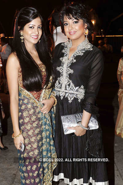 Mohit-Udita's wedding reception
