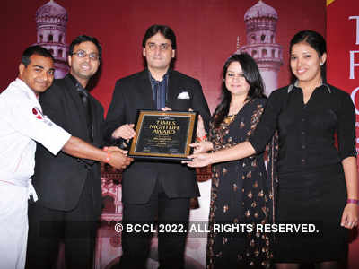 Times Nightlife Awards '13 - Winners : Hyderabad