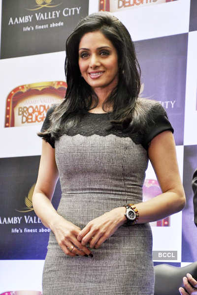 Sridevi launches 'Broadway Delight'