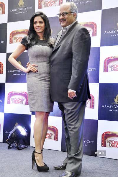 Sridevi launches 'Broadway Delight'