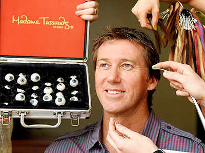 Madame Tussauds to immortalise McGrath in wax