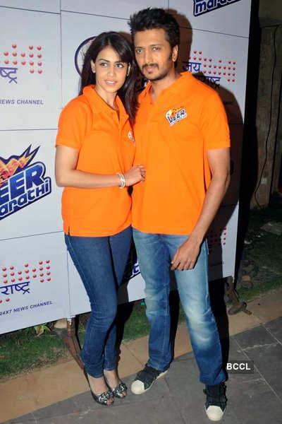 Launch of 'Veer Marathi' CCL team