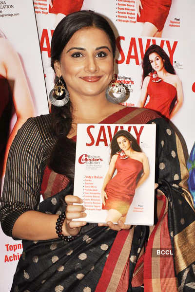 Vidya at magazine launch
