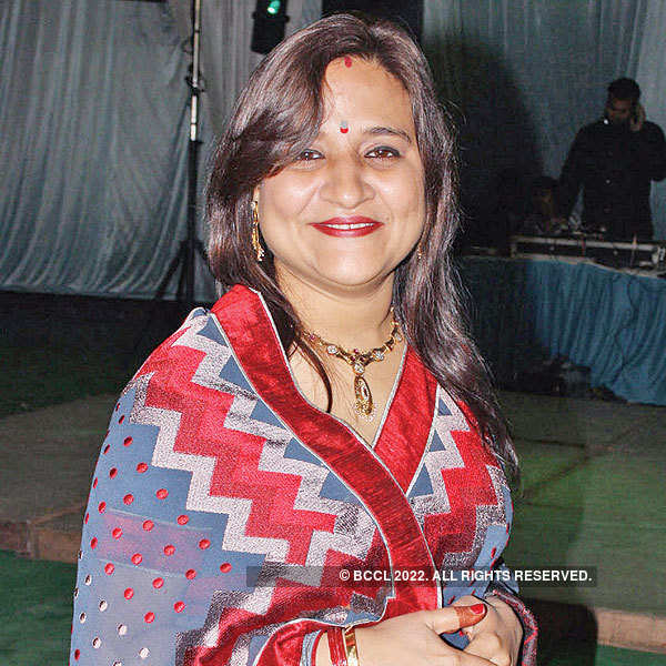 Smriti and Varun Bajpai's wedding reception