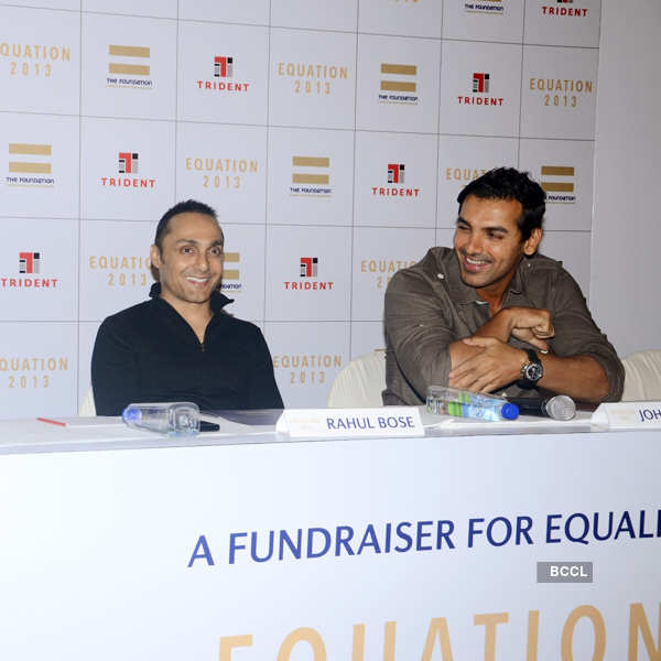 John, Rahul at 'Equation 2013'