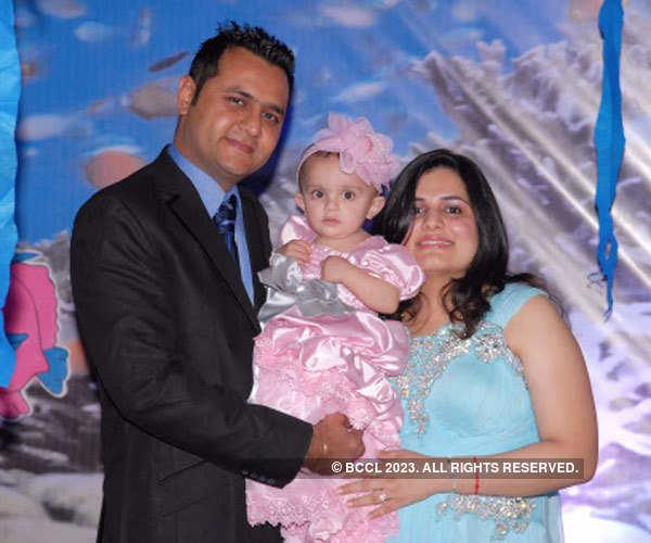 Lavanya's 1st birthday party