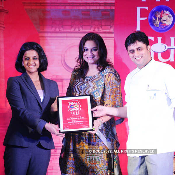 Times Food Guide Awards '13 - Winners: Delhi
