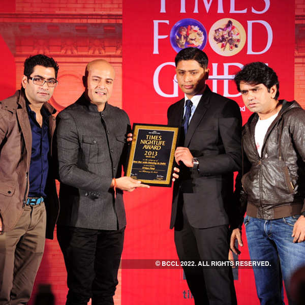 Times Nightlife Awards '13 - Winners : Delhi
