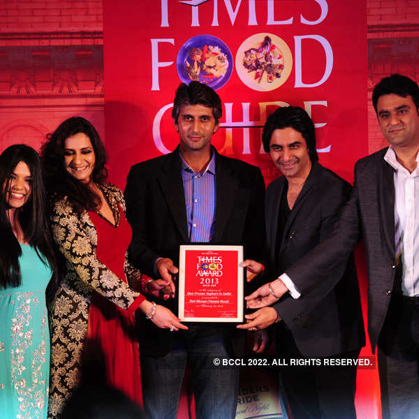 Times Food Guide Awards '13 - Winners: Delhi