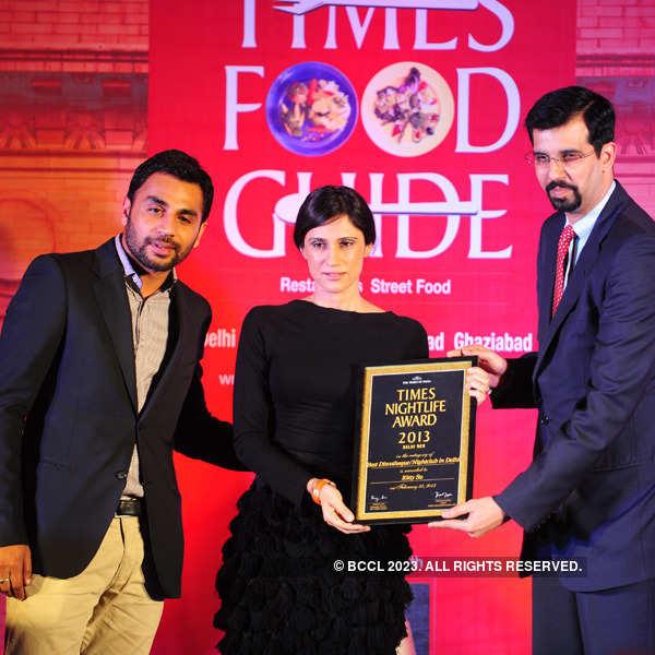 Times Nightlife Awards '13 - Winners : Delhi