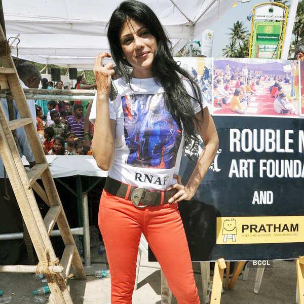 Rouble Nagi art camp