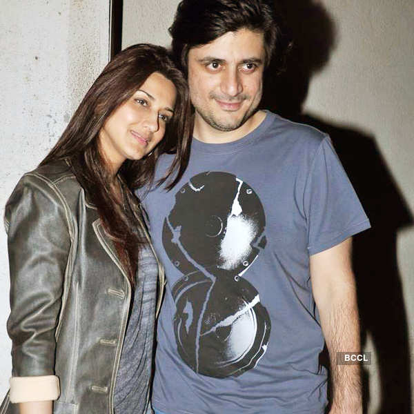 Celebs watch 'I, Me Aur Main'