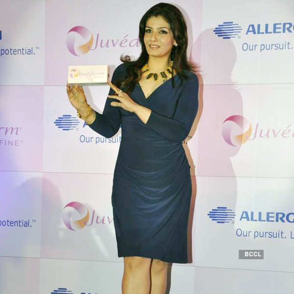Raveena launches skin ointment