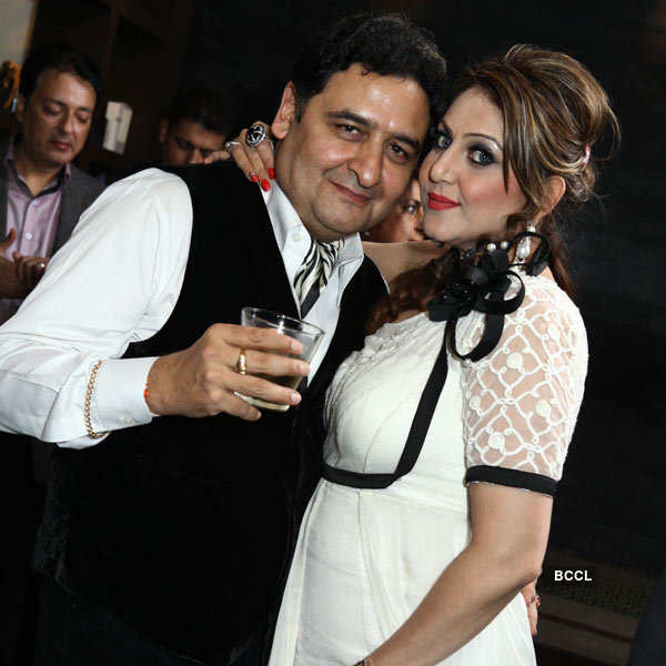 Manuu Rawal's birthday party