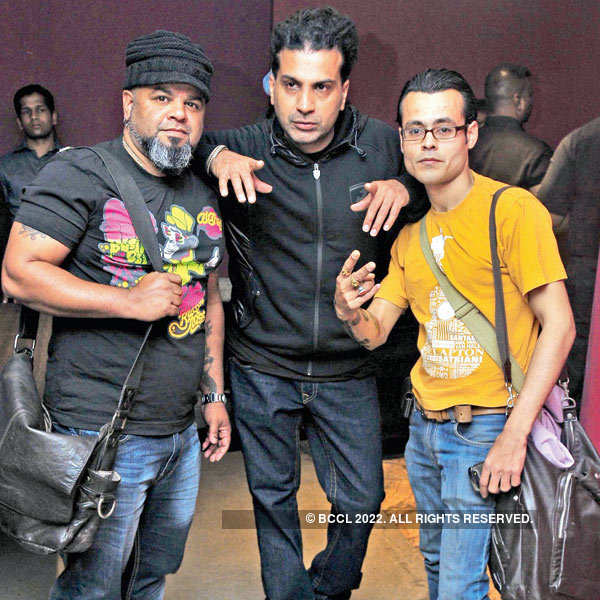 Apache Indian @ a DJ night party