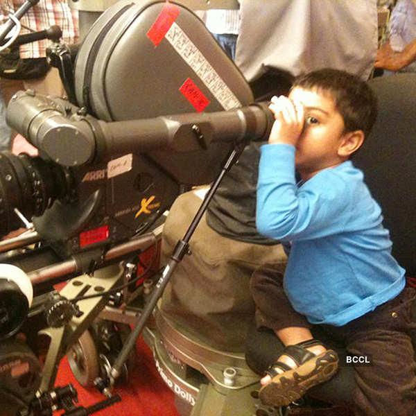 Himmatwala: On the sets