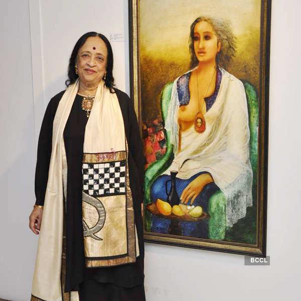 Anjolie Ela Menon's art show