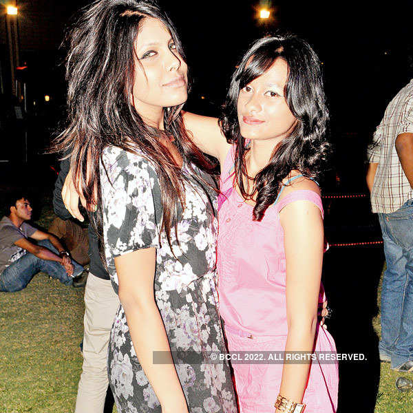 Roscking party at the Lalit Ashok
