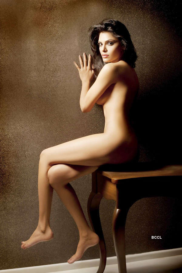 Sherlyn's nude act for film