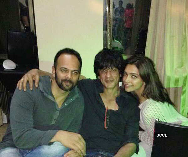 Chennai Express: On the sets