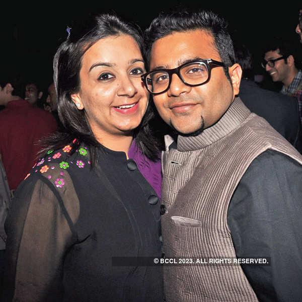Paras & Shalini's post show party