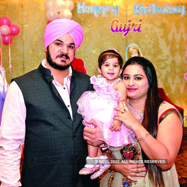 Gujri's first birthday party