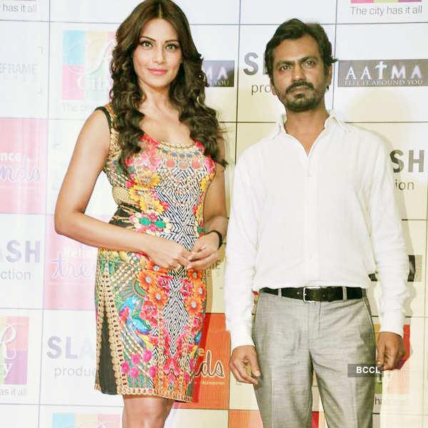 Bips, Nawazuddin promote 'Aatma'