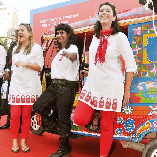 'Red Rickshaw Revolution' campaign