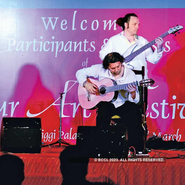 Spanish musicians @ Jaipur Art fest