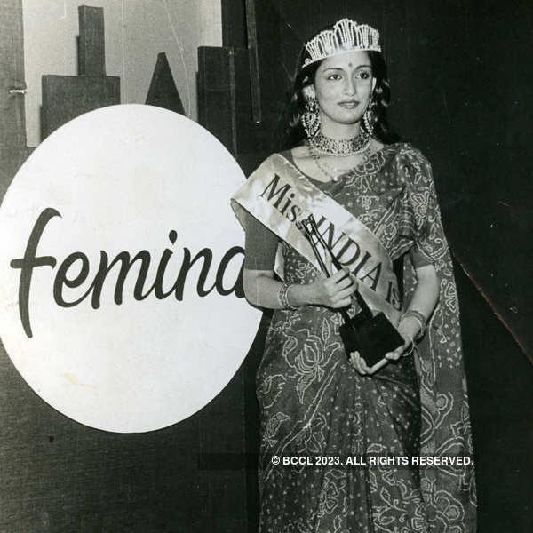 50 years of Miss India: Winners through the years