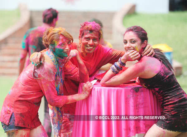 Vineet Jain's Holi Party '13 - 3