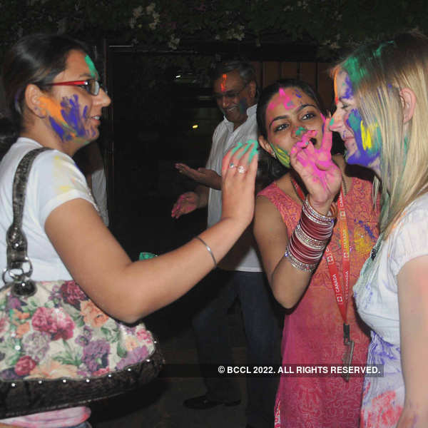 Holi celebrations @ Canadian High Commission