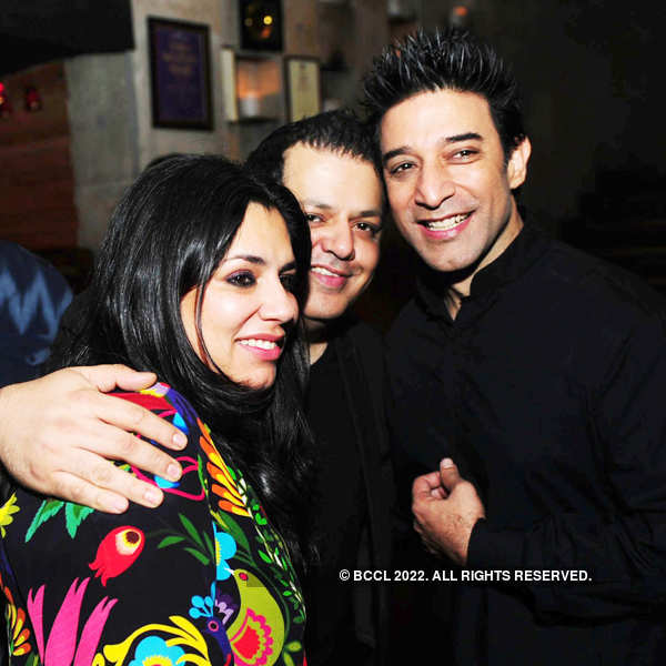 Vijay Arora's birthday party