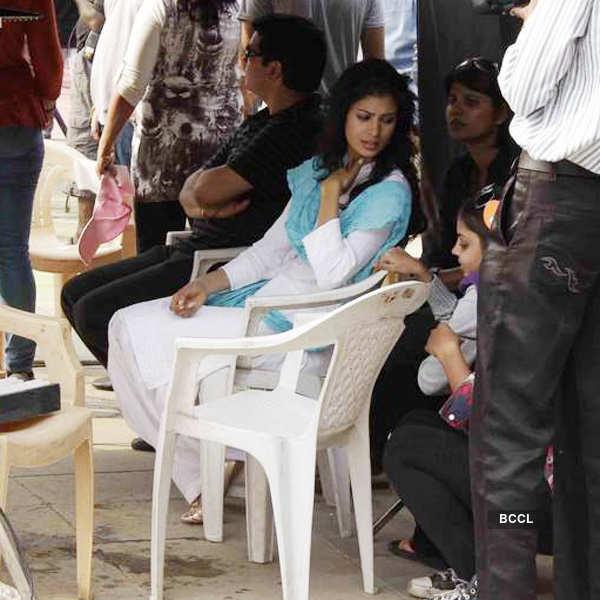 Dussehra: On the sets