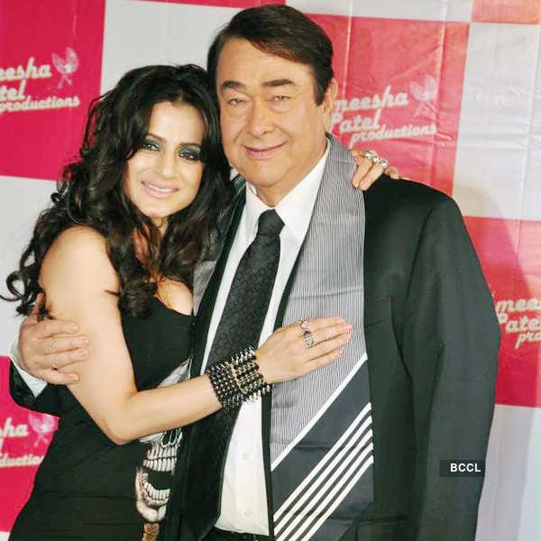 Ameesha launches 'Desi Magic'